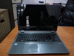 USA used acer aspire M5 touch core i5 with keyboardlight.