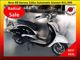 New 150cc RR Harvey Scooter