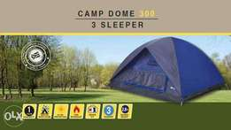 Camp dome tents