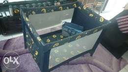 Baby Cot and Baby Bag - R500