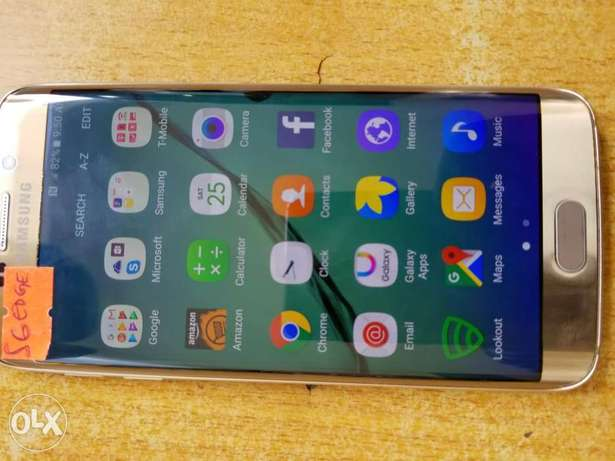 Samsung S6 EDGE In top condition Ife Central - image 1