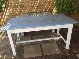 Rustic 6 seater table with loads of character