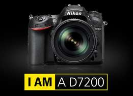 new Nikon camera D7200 DSLR with Built-in WiFi, NFC & More in cbd shop
