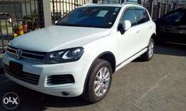 2012 Volkswagen Touareg: cash or hire purchase