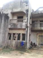 6 Bedrooms duplex on a two and half plot in an estate at Alakuko