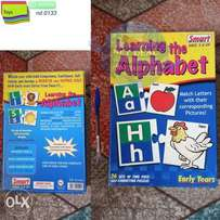 learning the alphabet 3+