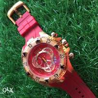Invicta reserve super rubber strap
