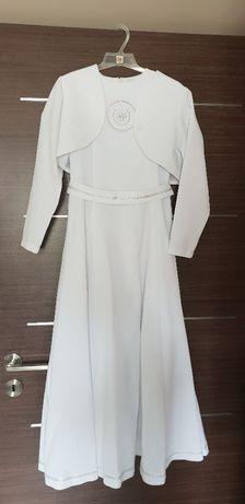 cb99cececb sukienka komunijna z żakietem - Opole - Sukienka komunijna wraz z żakietem  użyta kilka razy podczas