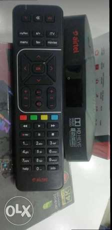Airtel =HD Receiver Available with 6months malyalam tamil telgu kannad