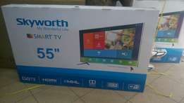 Brand new sealed Skyworth tv 55inch smart -digital LED tv