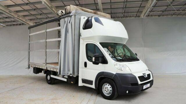 Peugeot BOXER 3.0/130KW PRITSCHE+PLANE 10PALL./LUFT - 2013