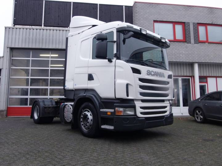Scania R420 LA 4X2 MNA CR19 SPOILERS FENDERS AUT/ INTARDER - 2011