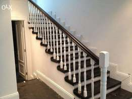 Wooden Balustrades & Staircases