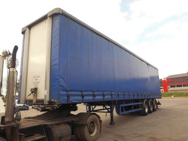 Sale s d c curtainside curtain side semi-trailer for  by auction - 2005