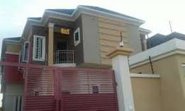Newly built 4 bedroom terex duplex + 1 roombq for sale in wuye abuja