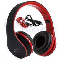 Bluetooth Wireless Foldable Headset Stereo Headphone Earphone for iPho