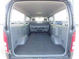 Very clean Gray Toyota Hiace