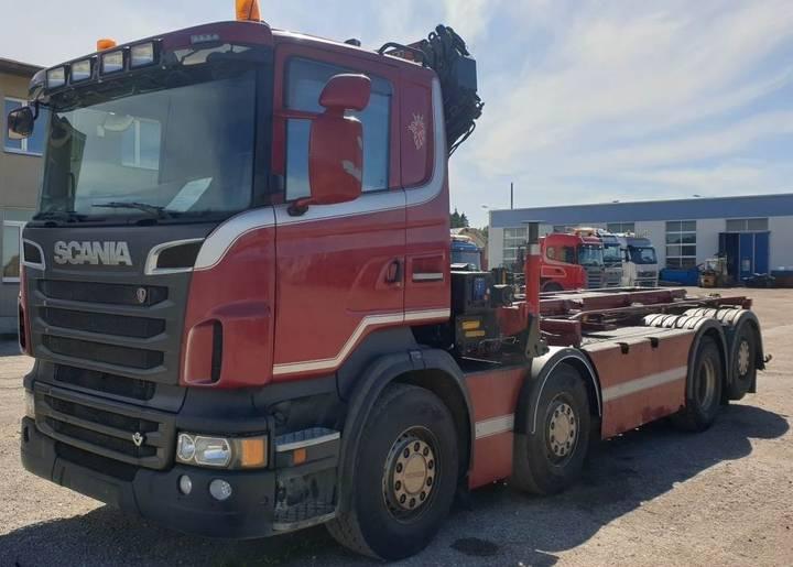 Scania R560 8x2*6 Hmf 2420k5 - 2012