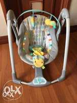Taggies Portable Baby Swing
