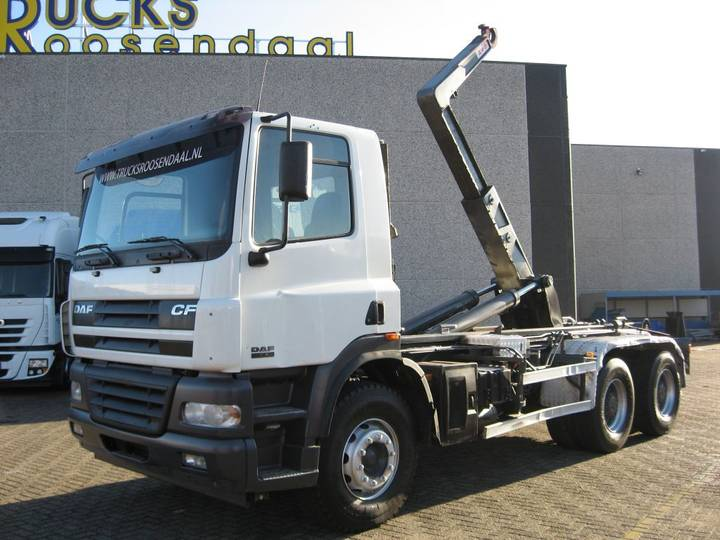 DAF CF 85.430 + 6x4 STEEL + hooksystem + Manual - 2005