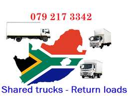 Long distance shared trucks