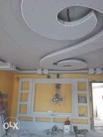 House paint and gypsum work