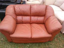 pure leather 2seater