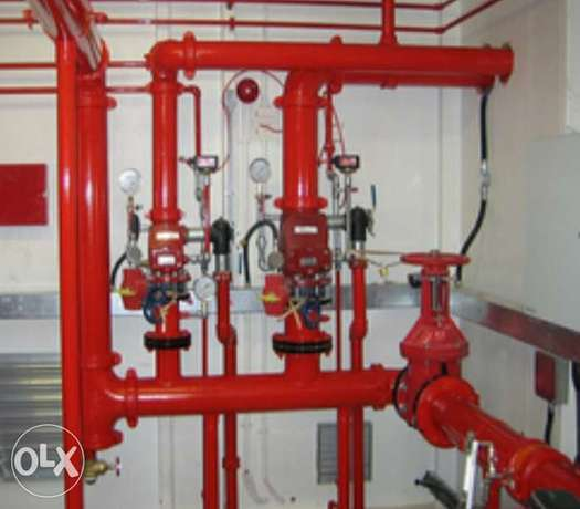Fire and safety works For commercial resident buildings and industrial