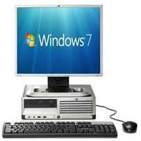 HP complete desktop  set computer with free keyboard and mouse