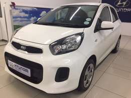 2016 Kia Picanto 1.0 LS for R119 990 or from R2433p/m