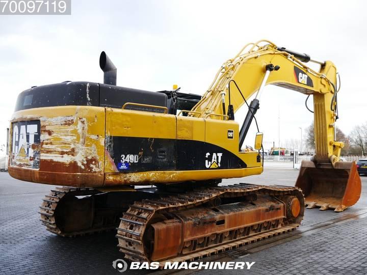 Caterpillar 349D LME Hammer line - CAT Bucket - 2014 - image 5
