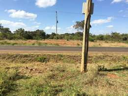 Kithimani Machakos County size 50by100 Commercial plots for sale