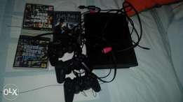 Play Station 3 with 3 consoles and 3 games
