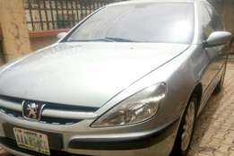 Clean Peugeot 607 with ice cold ac