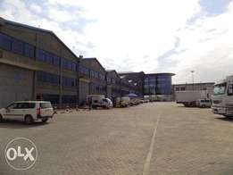 Go Downs to let.7,200 sq ft each with office space. Mombasa Rd