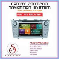 CAMRY Navigation System with reverse camera