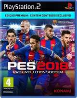 Pes 2018 ps2 limited copy