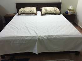 6*6 mvule bed for sell