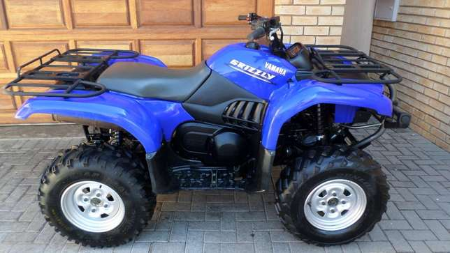 Yamaha Grizzly 660 utility quad,As New condition.Only 1750kms. Centurion - image 1