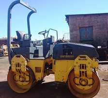 Bomag 4T Double Drum Ride on Roller