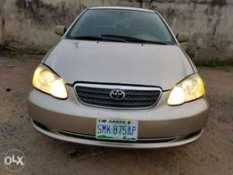 Very clean Toyota Corolla 2006 model first body
