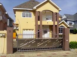 5 bed executive at East Legon gated community for rent