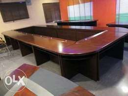 Original executive conference table by 18 seaters