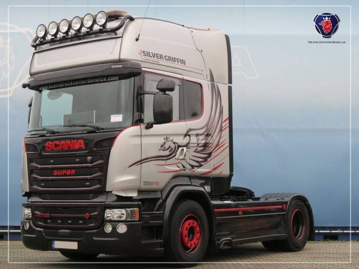 Scania R730 Silver Griffin Hydro PTO / Leasing - 2016