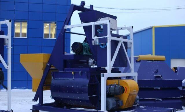 ZZBO Двухвальные бетоносмесители бп-2Г-1500с с ковшем