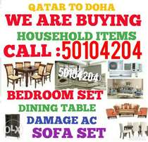 Buying used household items