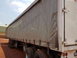 2007 Paramount superlink curtain side trailer for sale