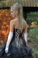 Matric farewell dress - Black & White
