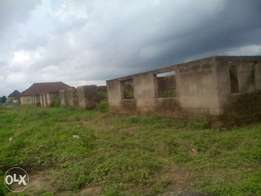 Uncompleted 3bedroom flat