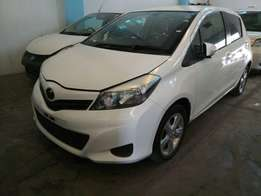 Toyota Vitz new shape 2011 model KCN number Loaded with alloy rims ,